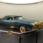 Isaac Hayes' customized Cadillac Eldorado.