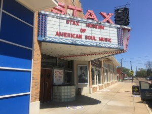 The iconic Stax Museum of American Soul Music in Memphis, Tn.